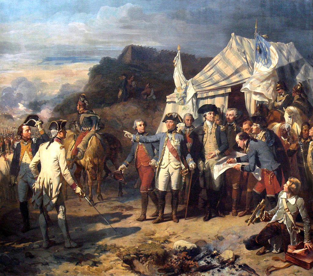 Siège de Yorktown, by Auguste Couder