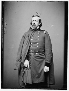 Brigadier General Charles P. Stone commanded the Union Corps of Observation during the battle of Ball's Bluff.  (Library of Congress)