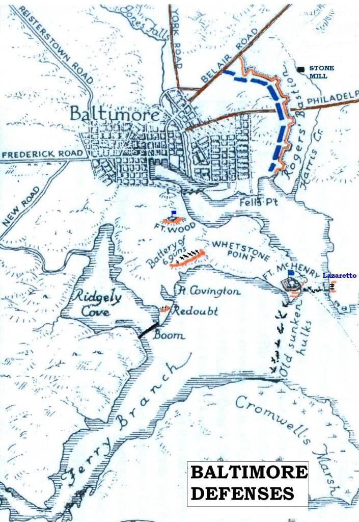 C 2 Baltimore Defenses 1814