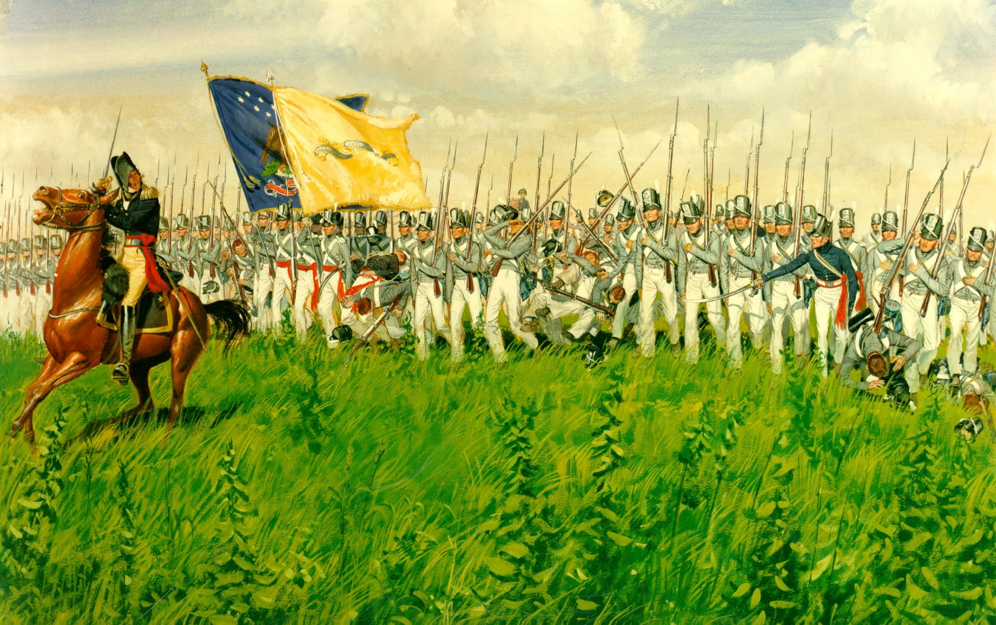 The Battle Of Chippewa 5 July 1814 The Campaign For The National Museum Of The United States Army