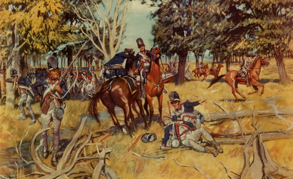 The Road to Fallen Timbers, by H. Charles McBarron  (U.S. Army Center of Military History)