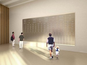 Veterans Donor Wall