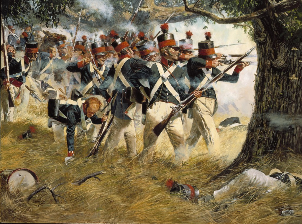 Battle of North Point, by Don Troiani  (National Guard Heritage Series)