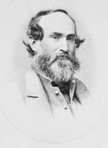 Confederate Lieutenant General Jubal A. Early commanded the Army of the Valley during the battle of Monocacy and the raid on Washington.  (Library of Congress)