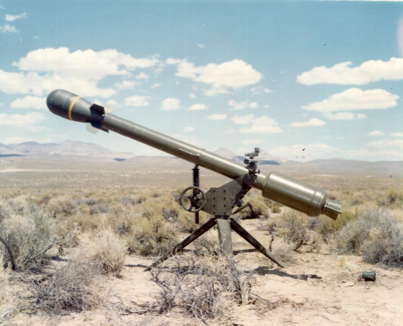 The M28 M29 Davy Crockett Nuclear Weapon System The