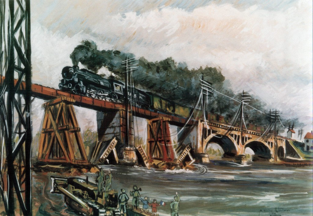 Railroaders in Olive Drab: The Military Railway Service in