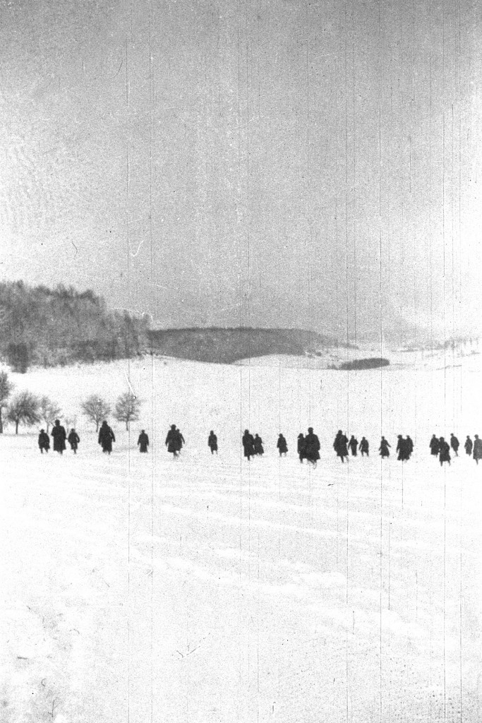 The 103d Infantry arrived in France with the 26th Division in October 1917 and began training under French instructors near the town of Neufchateau, where the New England doughboys endured a harsh winter. (Maine National Guard Archives)