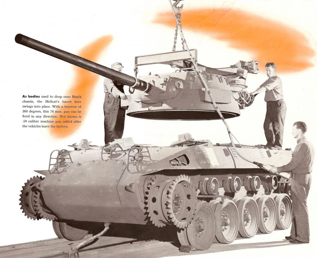 The M18 Hellcat Tank Destroyer - The Campaign for the National
