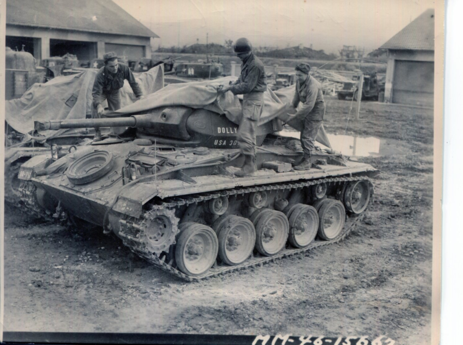 The M24 Chaffee Light Tank - The Campaign for the National Museum of
